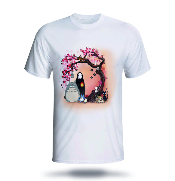 Studio Ghibli Inspired - Cherry Blossom Tree