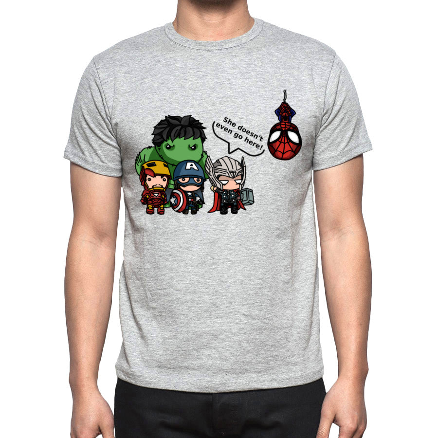 Men's Avengers vs. Mean girls T-Shirt