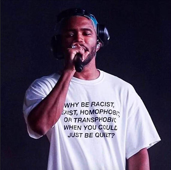 Frank Ocean - Why be Racist? T-Shirt