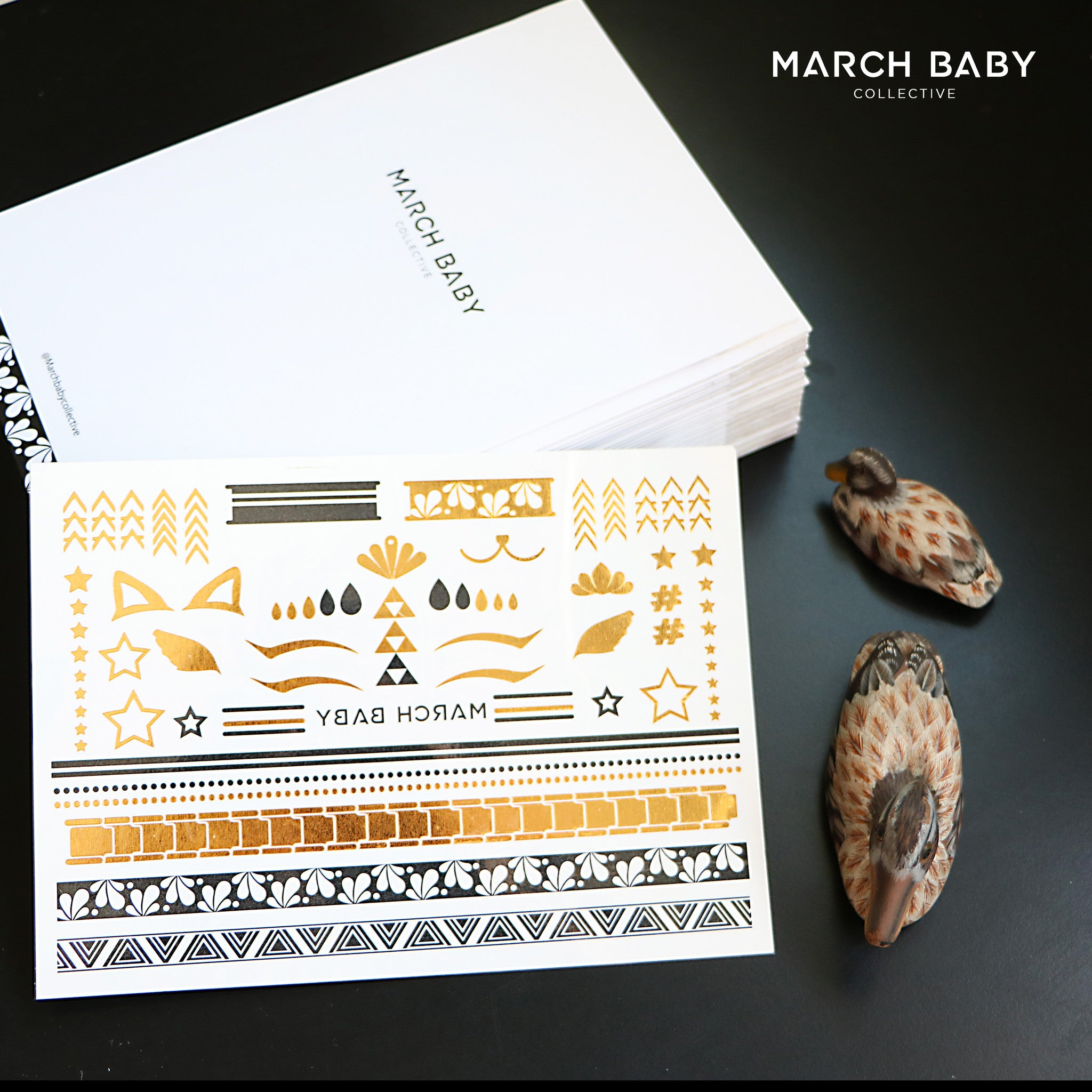 Native Metallic Tattoo Collection - MarchBaby Collective