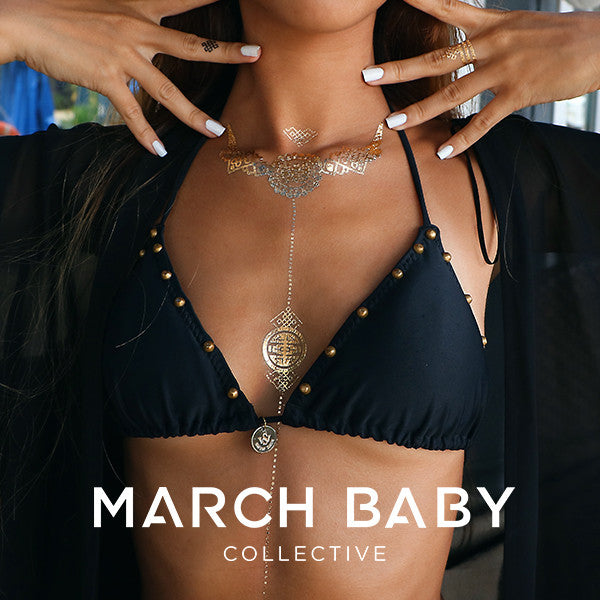 Ruyi Metallic Tattoo Collection - MarchBaby Collective