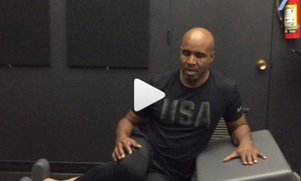 Today's morning workout | Barry Bonds