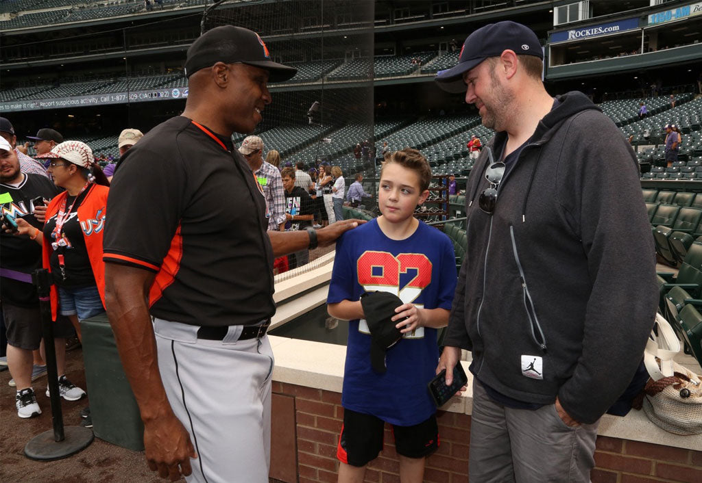 Pleasure To Meet Austin And His Family | Barry Bonds