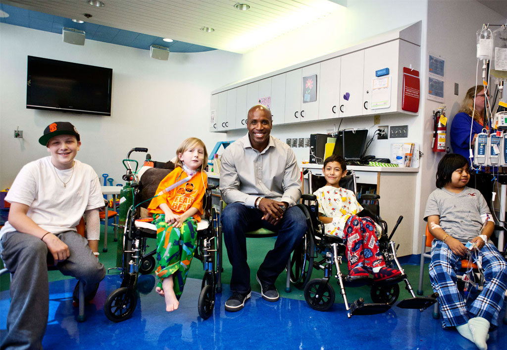 Baseball Great Barry Bonds Strengthens Relationship with Children's Hospital | Barry Bonds