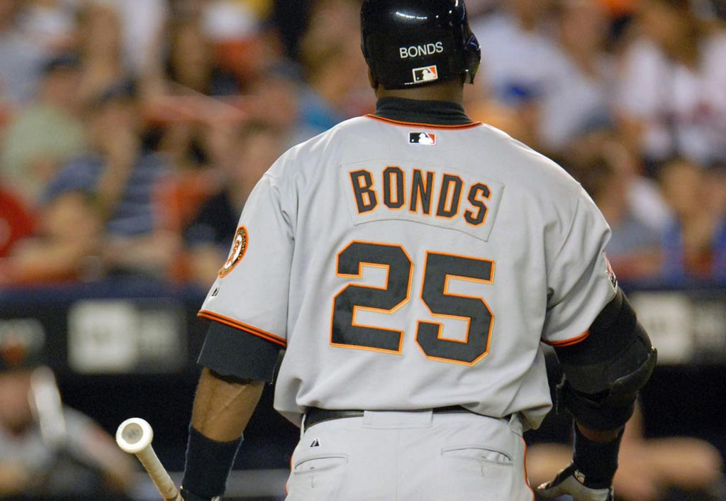Giants to retire No. 25 jersey of Barry Bonds in August | Barry Bonds
