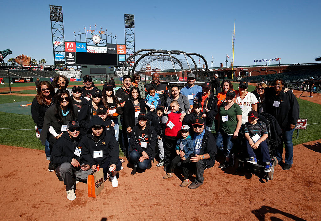 The Barry Bonds Family Foundation Hits a Home Run with Family House | Barry Bonds