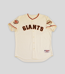 SF Giants Bonds Game Signed 756 HR Jersey | Barry Bonds