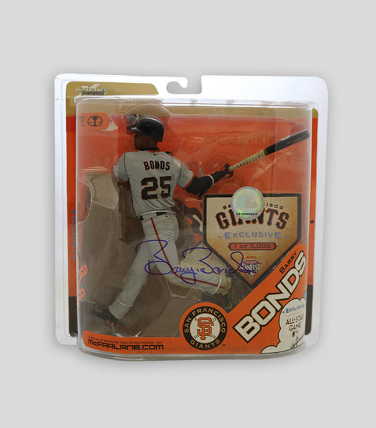 Bonds Hand Signed McFarlane All Star Game Figurine - Signed