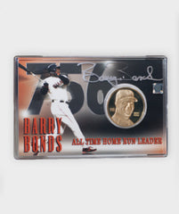 Barry Bonds 756 HR Coin and Commemorative card | Barry Bonds