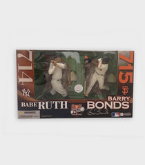 715 HR Barry Bonds/ Babe Ruth Figurine Set | Barry Bonds