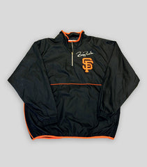 Bonds Hand Signed Game Issued Warm Up Jacket – Long Sleeve – Short Sleeve - Signed | Barry Bonds