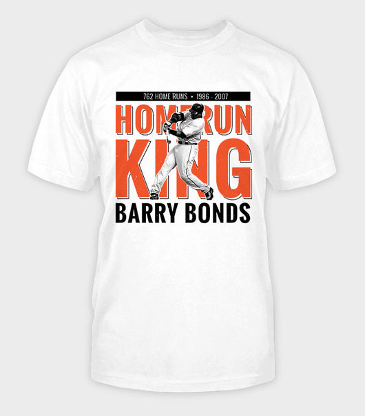 Home Run King T-Shirt | Barry Bonds Gear