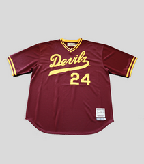 Bonds Signed ASU Throwback Pullover Jersey | Barry Bonds