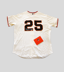 BB25 Giants Home All Star Jersey | Barry Bonds
