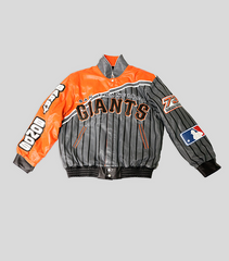 Bonds 73 Homerun Leather Jacket | Barry Bonds