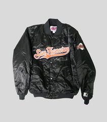 Official SF Giants Team Issued Jacket | Barry Bonds