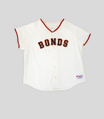 BB25 Giants Womens Home Jersey | Barry Bonds
