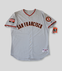 SF Giants Authentic Bonds SF Giants Away Jersey | Barry Bonds