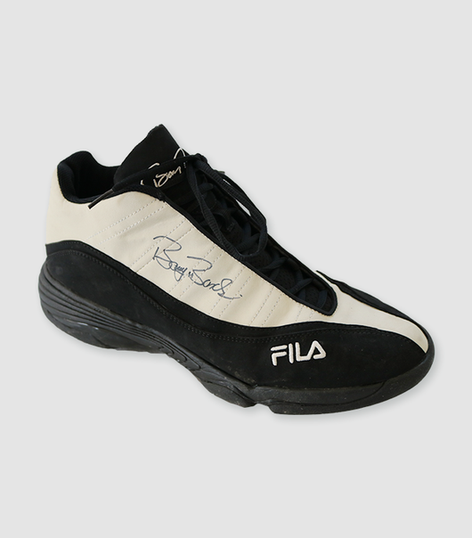 Game Used FILA Cleats