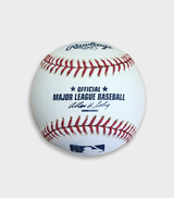 Autographed Official Game Baseball