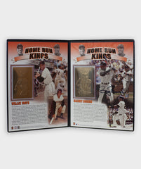 660 HR Barry Bonds/Willie Mays 24K Gold Card Set | Barry Bonds