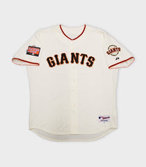Barry Bonds Hand Signed Game Used 2007 Home Uniform | Barry Bonds