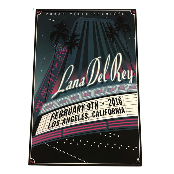 Limited Edition Wiltern Poster