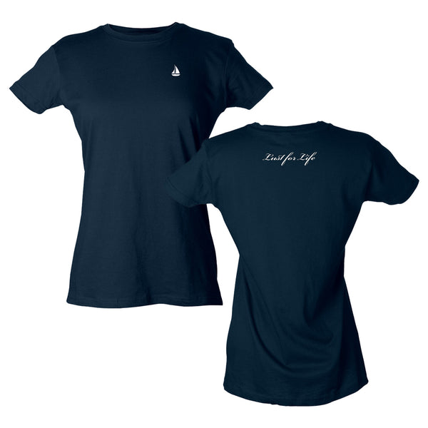 Lust for Life Boat Navy Tee