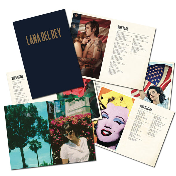 Lana Del Rey Lyric Book Journal