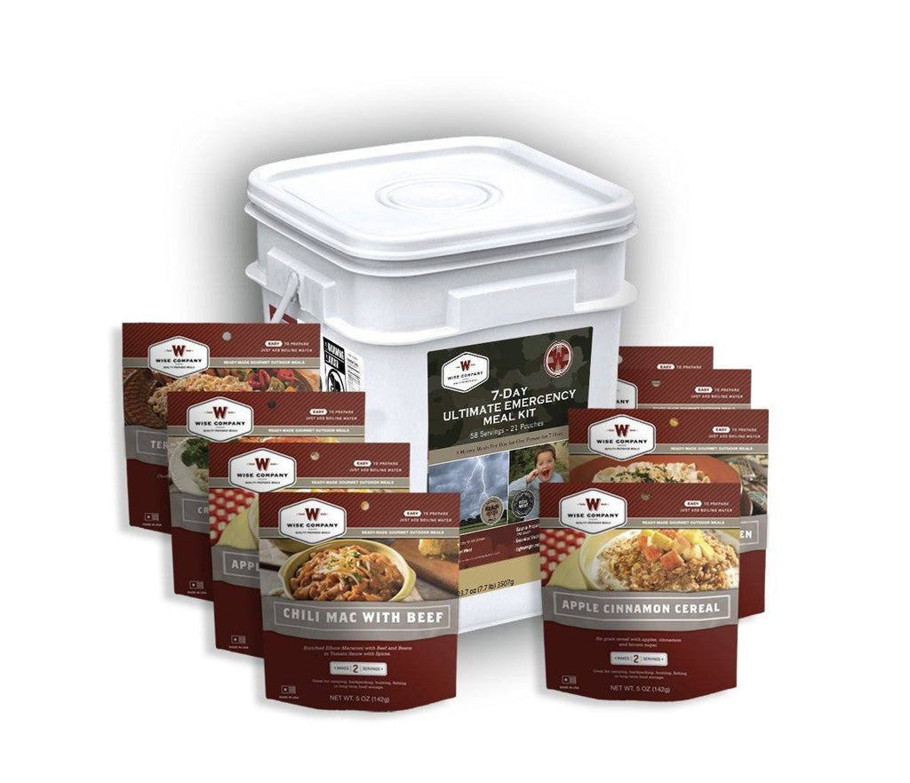 Wise Company 7-Day Ultimate Emergency Meal Kit 01-858