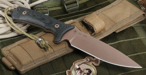 Spartan Blades Harsey Hunter Survival Knife SB15DEBKNLTN