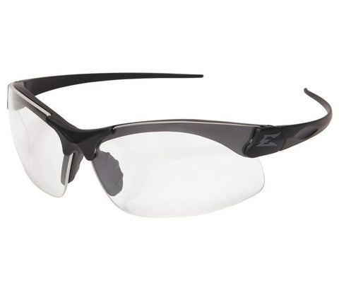 Edge Eyewear Sharp Edge Clear Safety Glasses Anti-Fog Scratch-Resistant