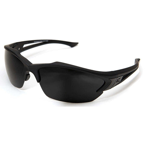 Edge Tactical Eyewear Acid Gambit Sunglasses w/ 3 Lens Kit Matte Black Frame