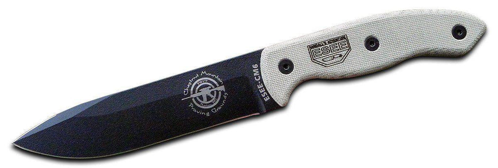 ESEE CM-6 Tactical Fixed Blade Survival Knife