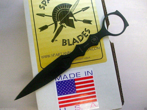Spartan Blades CQB Tool Fixed Blade Fighting Knife Black