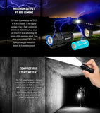 Olight S1R Baton Turbo S 900 Rechargeable Waterproof LED Flashlight