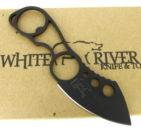 White River Knife & Tool Knucklehead Knife Black Ionbond