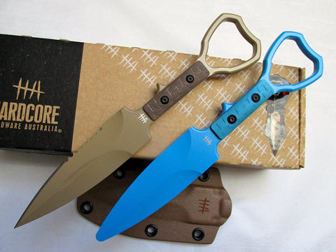 Hardcore Hardware ASOT-01 Tactical CPP Knife Desert Tan Trainer Package