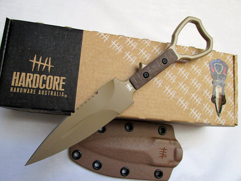 Hardcore Hardware ASOT-01 Tactical CPP Knife Desert Tan