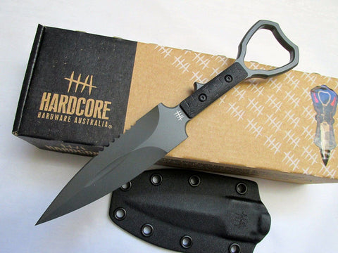 Hardcore Hardware ASOT-01 Tactical CPP Knife Graphite Grey