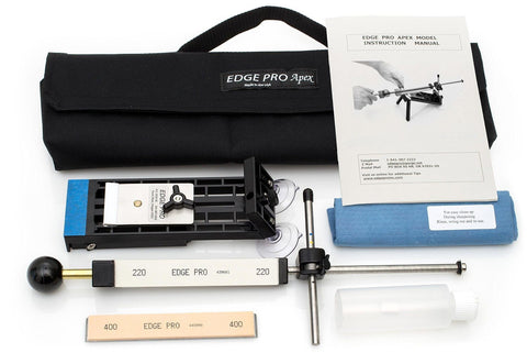 Edge Pro Apex Knife Sharpener Kit 1 w/ Carrying Case