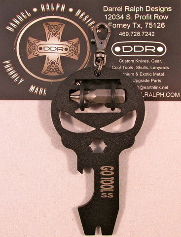 DDR Darrel Ralph DGT Go Tool Black Stainless Steel MultiTool
