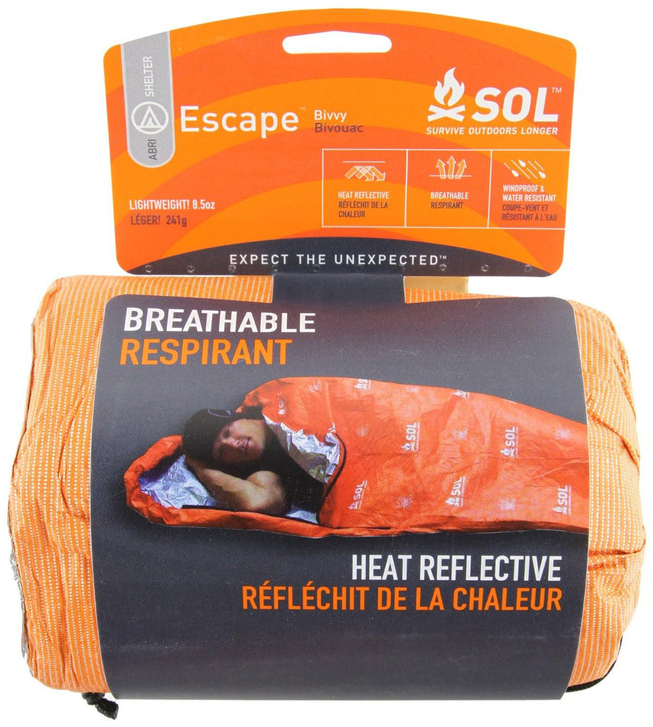 Adventure Medical Kits SOL Escape Bivvy Breathable Blanket 0140-1228