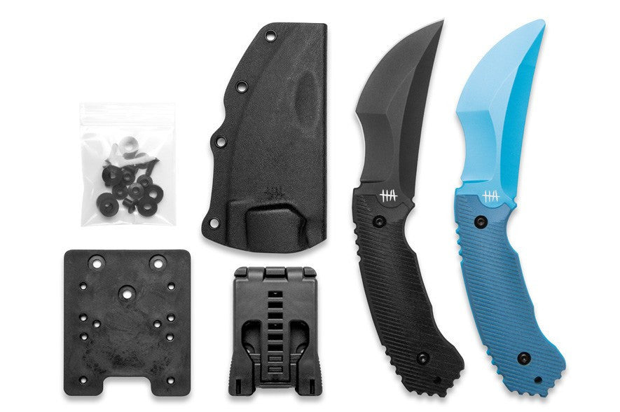 Hardcore Hardware Australia Razorback Reverse Edge Fighting Knife w/ Trainer CQC-01GBT