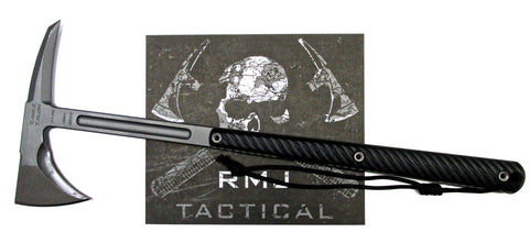 RMJ Tactical Eagle Talon Tomahawk Black 3D G-10 Handle Full Tang