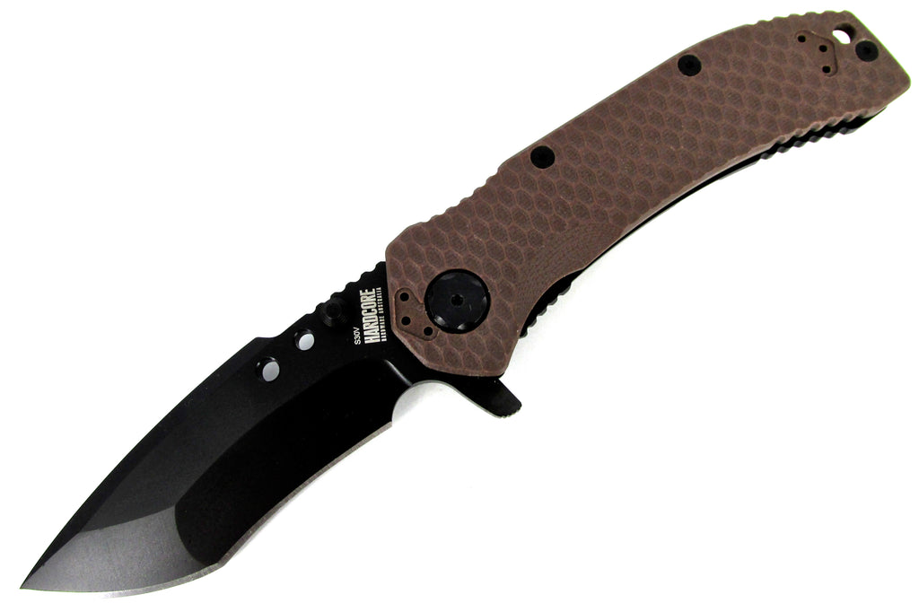 Hardcore Hardware Tactical Flipper Folder Recurve Gen 2 MILF-01 G2 DE G-10/Black
