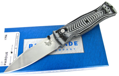 Benchmade Pardue 531 AXIS Folding Knife Textured G-10 Handles