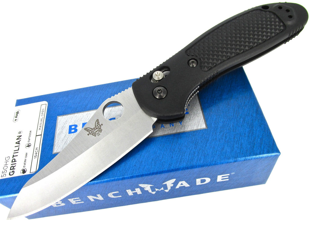 Benchmade Griptilian 550HG AXIS Folding Knife Black Nylon Handle
