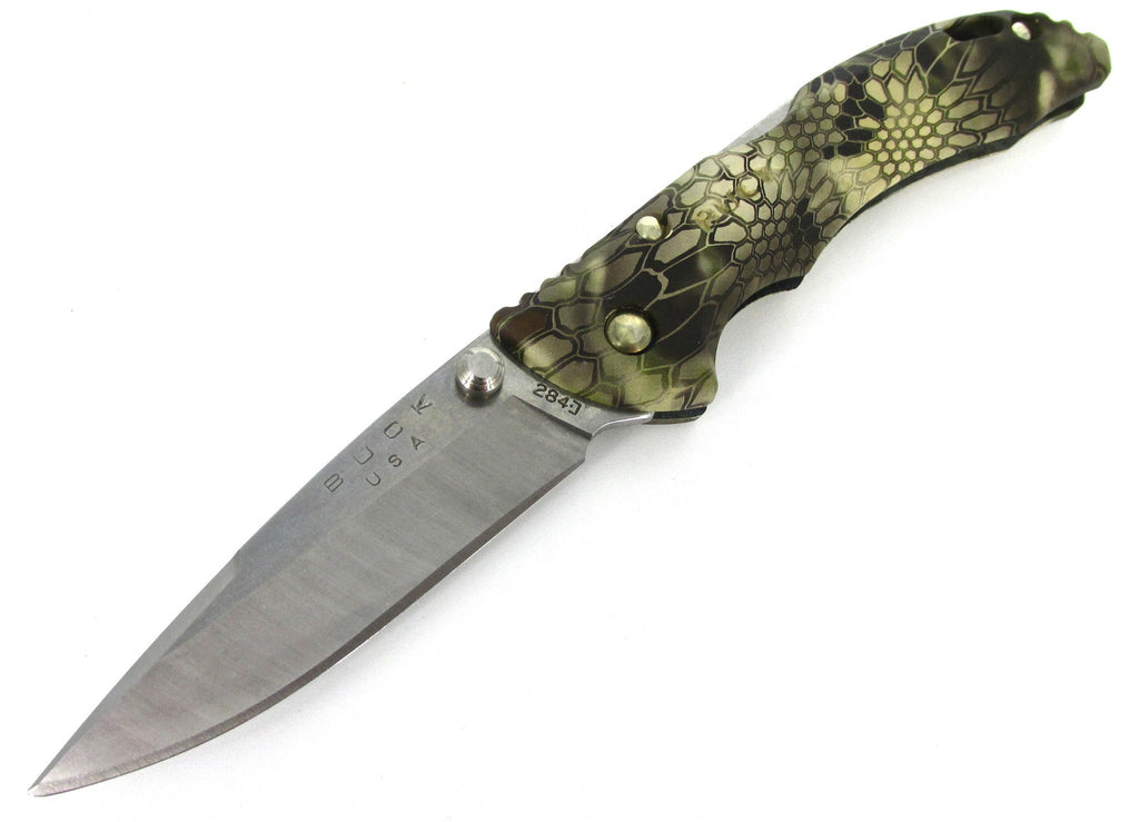 Buck Knives 285 Bantam BLW Kryptek Highlander Camo Folding Pocketknife 0285CMS26
