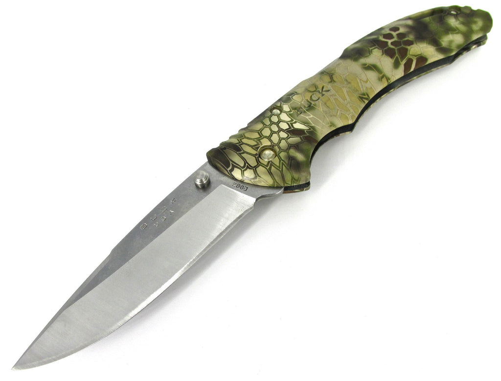 Buck Knives Bantam BHW Kryptek Highlander Camo Folding Pocketknife 0286CMS26